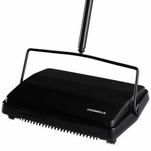 Casabella-Carpet-Sweeper-11-Inch-Lightweight-Electrostatic-Floor-Cleaner-Black