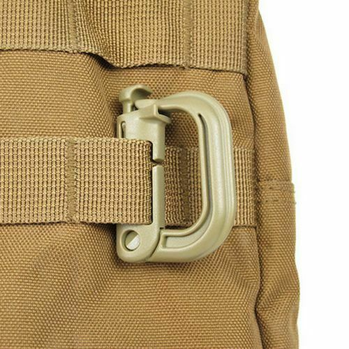 Hiking Backpack Hanging Carabiner Strong Shape D-ring Camp Cycle Climb Accessory