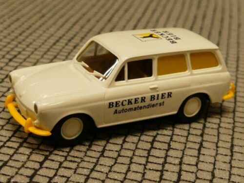 1//87 Brekina VW 1500 Variant Becker BIRRA distributori automatici servizio modello speciale Reinhardt