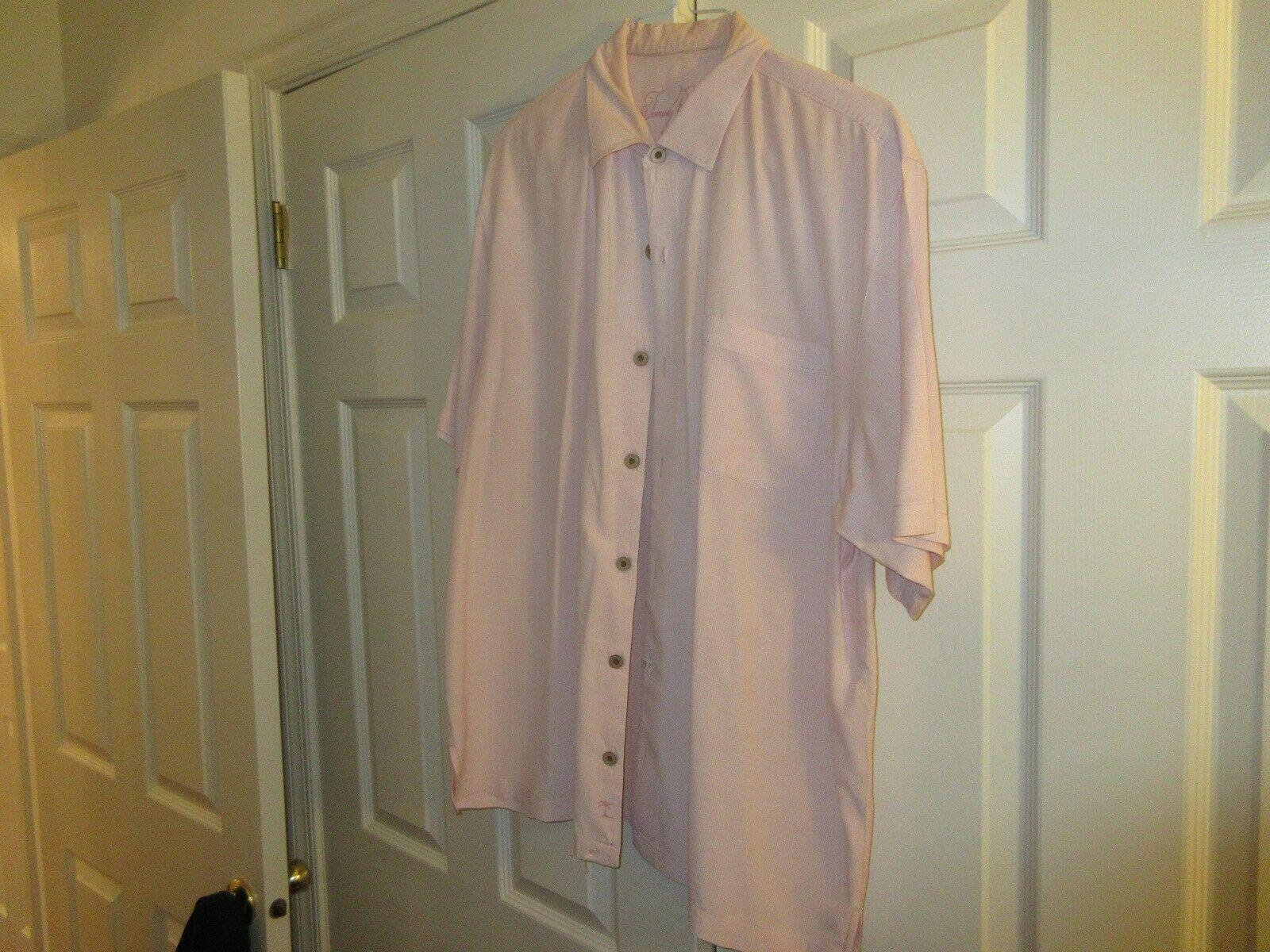 Tommy Bahama , Men's Short Sleeve , XL , 100% Tencel