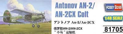 Inteligente Hobbyboss Antonov An-2/2cx Colt Russia China Modello Kit 1:48 Nuovo Ovp Kit Lustro
