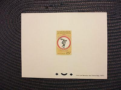 Afrika Obervolta/burkina Faso Epr.de Luxe Michel-kat-nr.118 April 1963-sportspiele Schmerzen Haben