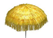 Maffei ombrellone Kenya giallo Art.6 palo centrale rafia d. 200 cm