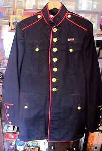 korean war usmc marine corps dress blues jacket