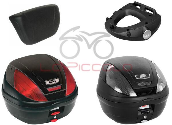 Givi Bauletto Valigia E370 N / Nt + Staffe Sr2117m Yamaha X Max 125 250 2014 Gemakkelijk Te Repareren