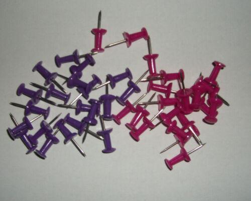 Pinnwand Nadeln Pinnwandnadeln  Pinn Pins Lila Pink