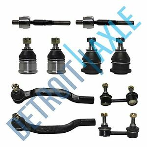 Brand New 10pc Complete Front Suspension Kit for Honda and Acura CL and TL