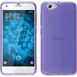 Silicone-Case-for-HTC-One-A9s-transparent-purple-Case