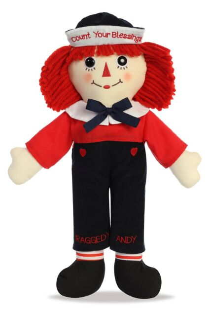 """Raggedy Ann /& Andy Love is Timeless Raggedy Andy 16/"""""""