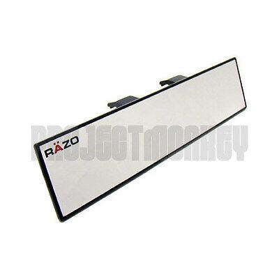 RAZO RG22 300mm Flat Wide Rear View Mirror Universal Fitment Clip-On Carmate JDM
