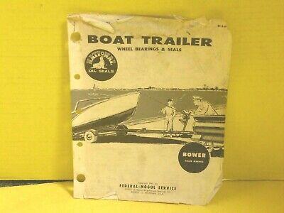 National FM003 Boat Trailer Bearing//Oil Seal Kit