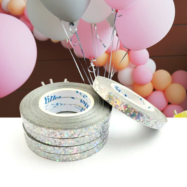 Decor DIY Party Supplies Silk Balloon Ribbon Roll Gifts Wrapping Foil Curling