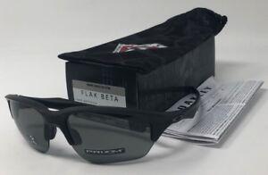 400fd1c6047 NEW IN BOX Oakley Flak Beta Matte Black   PRIZM Grey Lens Sunglasses ...