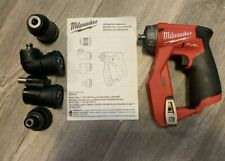 New Milwaukee 2505 20 M12 Fuel Installation Drilldriver 4 In 1 Tool Only