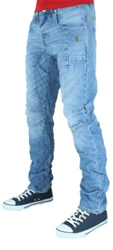 Jack /& Jones Uomo Jeans Denim Firmati Anti Fit Is Time Soldi,Stella G Pantaloni