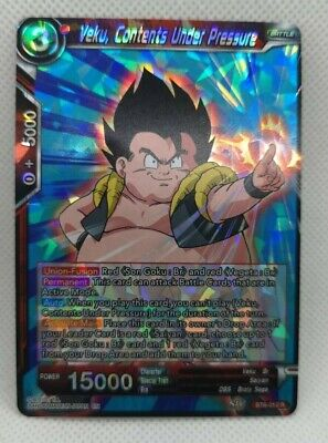 Red Rare Contents Under Pressure BT6-012 R Dragonball Super: Veku