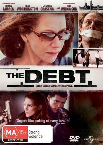 1 of 1 - The Debt  DVD- Helen Mirren, Tom Wilksinson Region 4 VGC