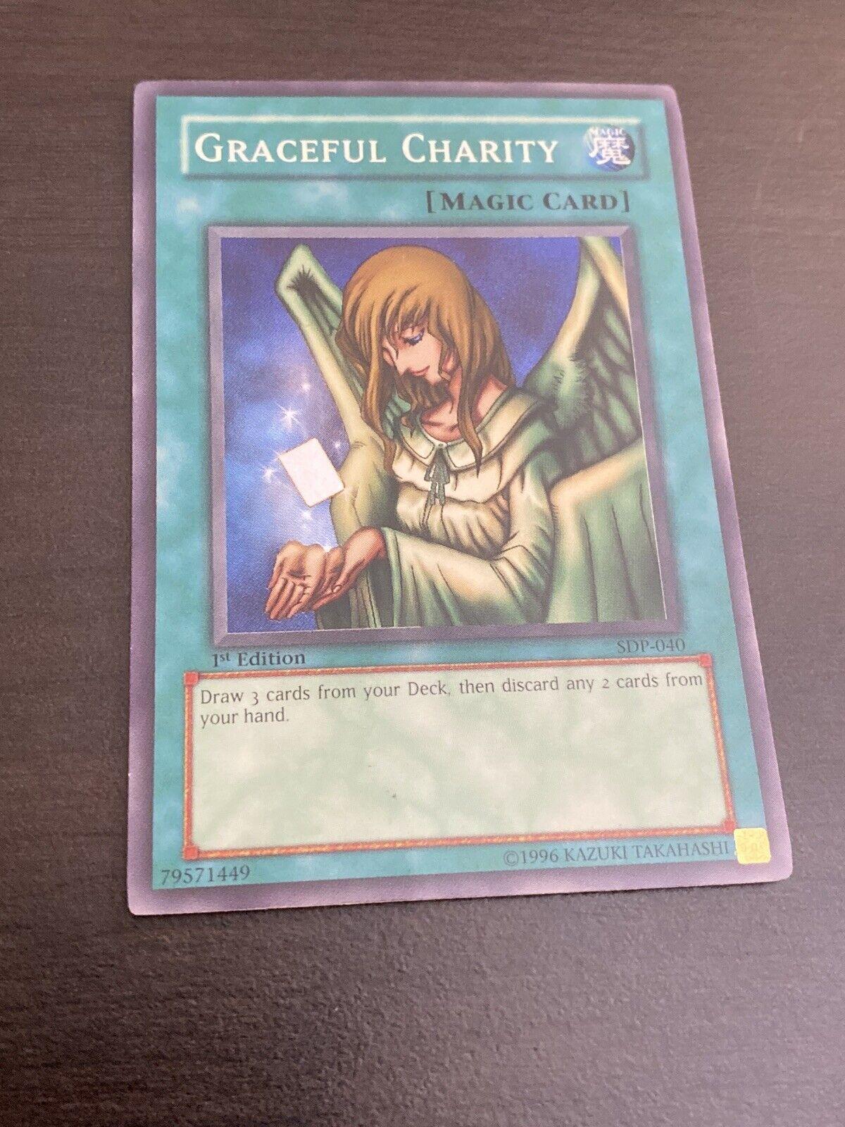 MP Yu-Gi-Oh Super Rare Graceful Charity SDP-040