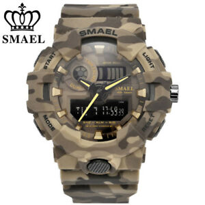 SMAEL-Men-Military-Watches-Army-Digital-Wristwatch-LED-Rubber-Watch-Shockproof