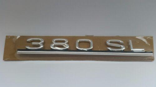 Genuine Mercedes-Benz R107 380SL  Rear trunk badge logo emblem A1078170815