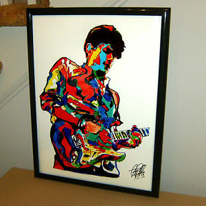 John-Mayer-Singer-Guitar-Blues-Music-Poster-Print-Wall-Tribute-Art-18x24