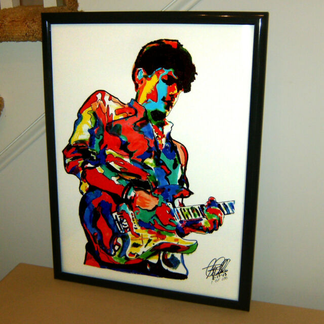John Mayer Singer Guitar Blues Pop Music Poster Print Wall Tribute Art 18x24