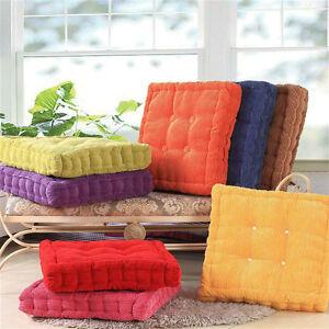 Thicken Square Corn Corduroy Seat Cushion Buttocks Support