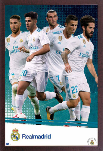 Sport poster-size 61x91,5 cm Football Real Madrid player action 17//18
