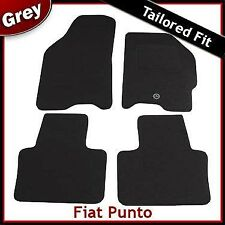 Fiat Punto (1999 2000 2001..2004 2005 2006) Tailored Fitted Carpet Car Mats GREY