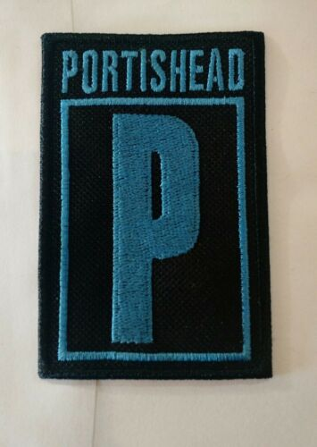 Portishead Band Patch Iron//sew-on 90s Trip hop Vintage