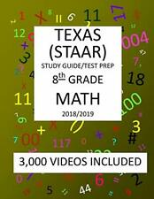 8th Grade MATH TEXAS STAAR: 2019 : 8th Grade Texas ...