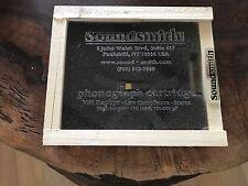 Soundsmith VPI Zephyr Phono Cartridge - Turntable