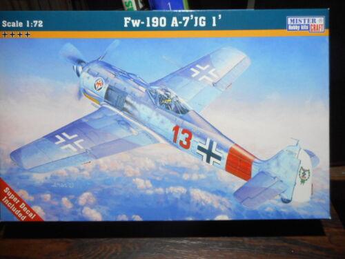 """1//72 MASTERCRAFT C-04 FOCKE WULF 190 A7 /""""JG1/"""""""