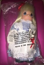 "DISNEY ALICE IN WONDERLAND DOLL PRECIOUS MOMENTS 9"" NEW 1860"