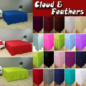 Plain-Dyed-Poly-Cotton-Extra-Deep-Fitted-Frilled-Valance-Sheet-in-All-Sizes