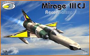 RV Aircraft 1//72 Mirage IIIC plastic kit