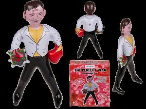 Das Perfekte Mann Aufblasbare Figur Puppe Ehemann Freund Henne Party Weiß