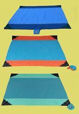 TTTM Großes Tuch Strandtuch Picknickdecke Liegetuch aus Fallschirmseide