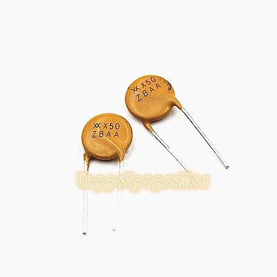 100 PCS 72V//0.5A RXEF050 PolySwitch Resettable Fuse XF050 72V PPTC 0.5 Amperea