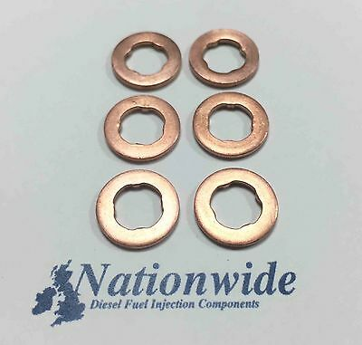 Peugeot 206 1.4 HDi Common Rail Diesel Injector Washers//Seals x 4