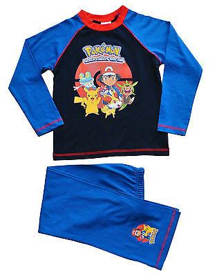 Pokemon gotta catch them all pyjamas 5 à 12 ans jeu d'ordinateur pj pokemon go | eBay