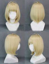 Exorcist Shiemi Moriyama Short Blonde Cute Party Cosplay Wig+ Free GIFT
