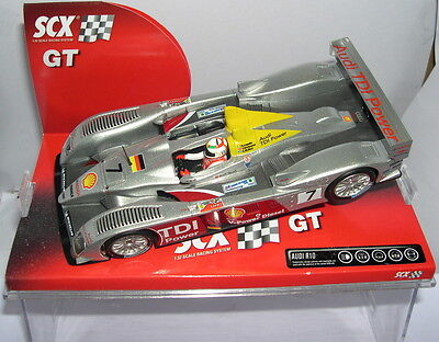 Kinderrennbahnen Scalextric Scx 62750 Audi R10 Tdi #7 T.kristensen-r.capello-a.mcnish Mb Making Things Convenient For The People Spielzeug