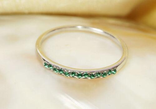 14k gold ring~natural tsavorite ring~engagement ring~wedding~silver ring~SJR1360