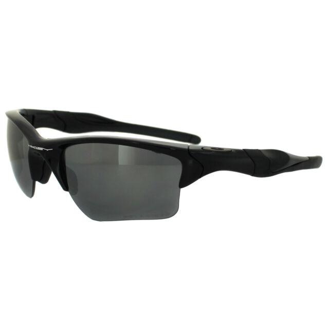 f5d4cf7bb9233 Oakley Sunglasses Half Jacket 2.0 XL Polished Black Iridium Polarized OO9154 -05