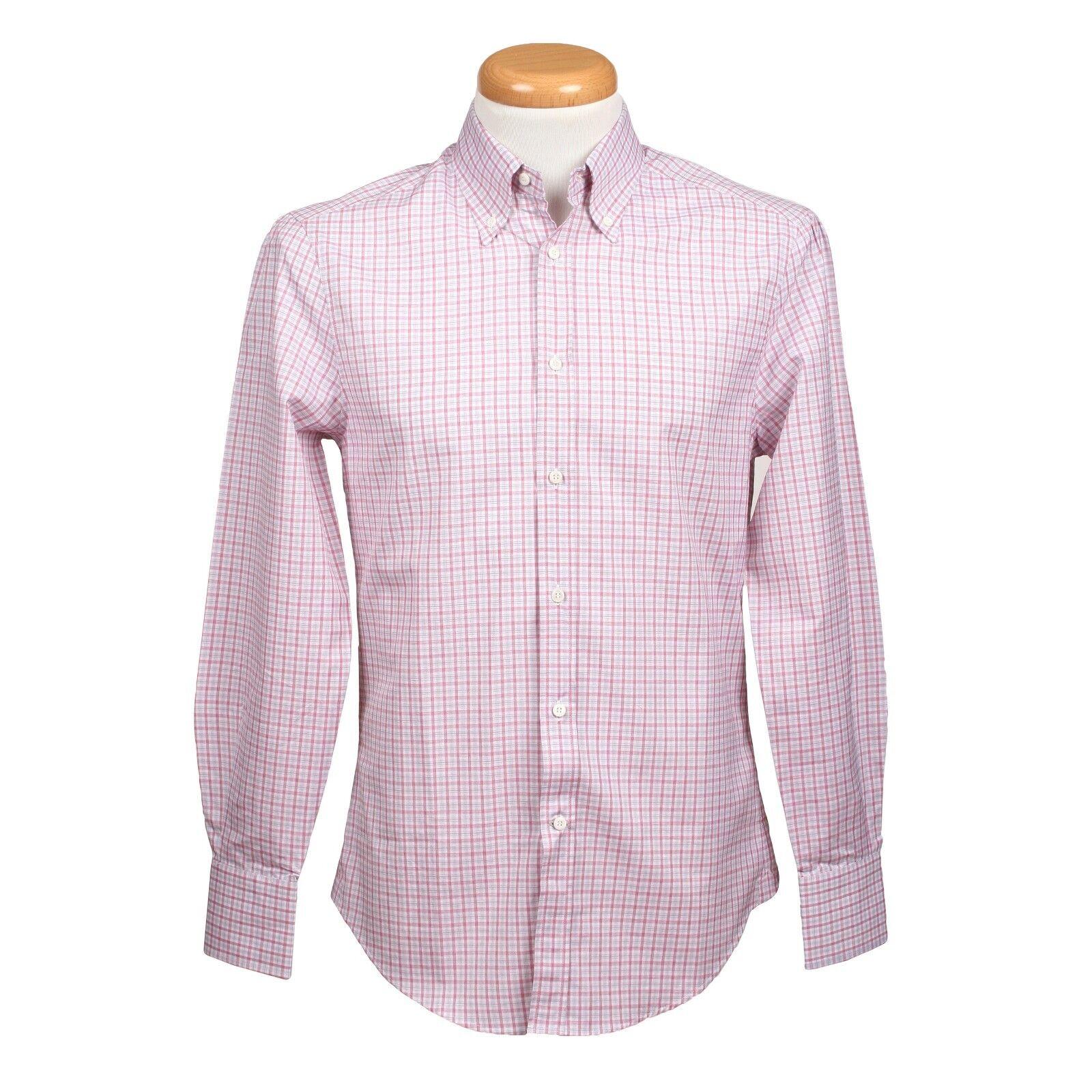 Brunello Cucinelli 100% Cotton Enge Passform Langärmliges Freizeithemd   | Spielzeug mit kindlichen Herzen herstellen