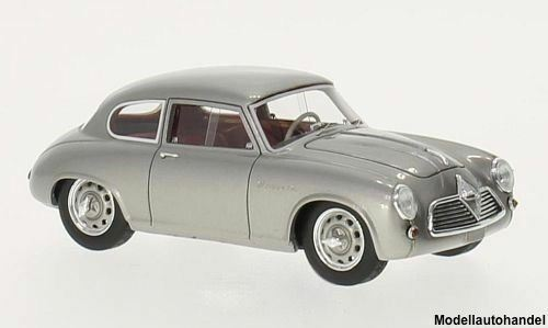 Borgward Borgward Borgward Hansa 1500 Sportcoupe silver 1954 1 43 Neo 46210    NEW 207f29