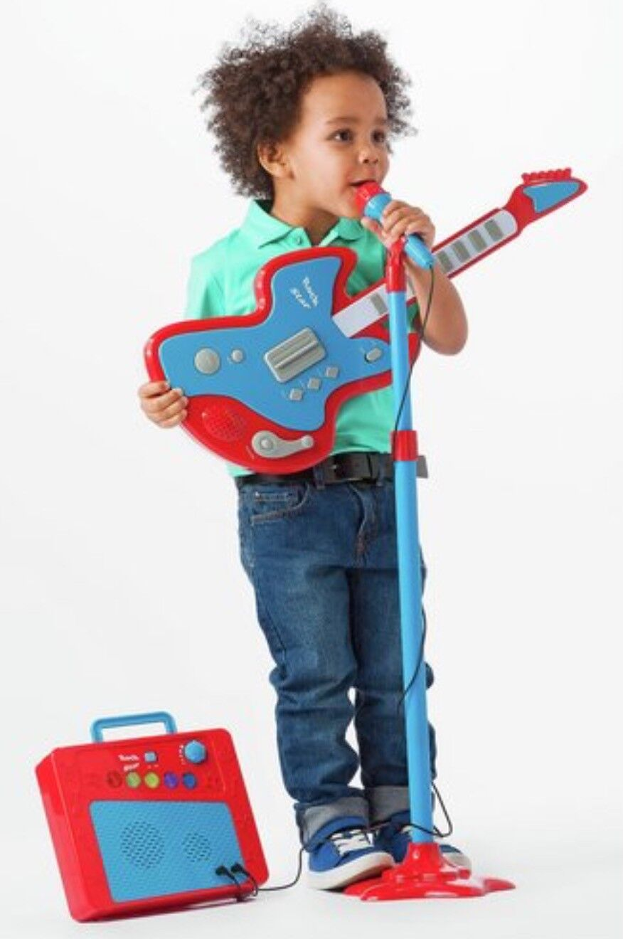 Chad Valley Guitar Mic Amplifier Kids Boys Girls Musical Play Toy Xmas Game Gift