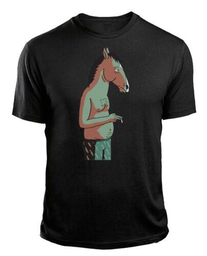 Bojack Horseman Smoking Adults Funny T-Shirt