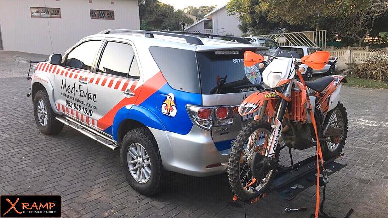 X-RAMP for off road bike